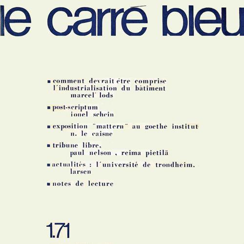 1 – 1971